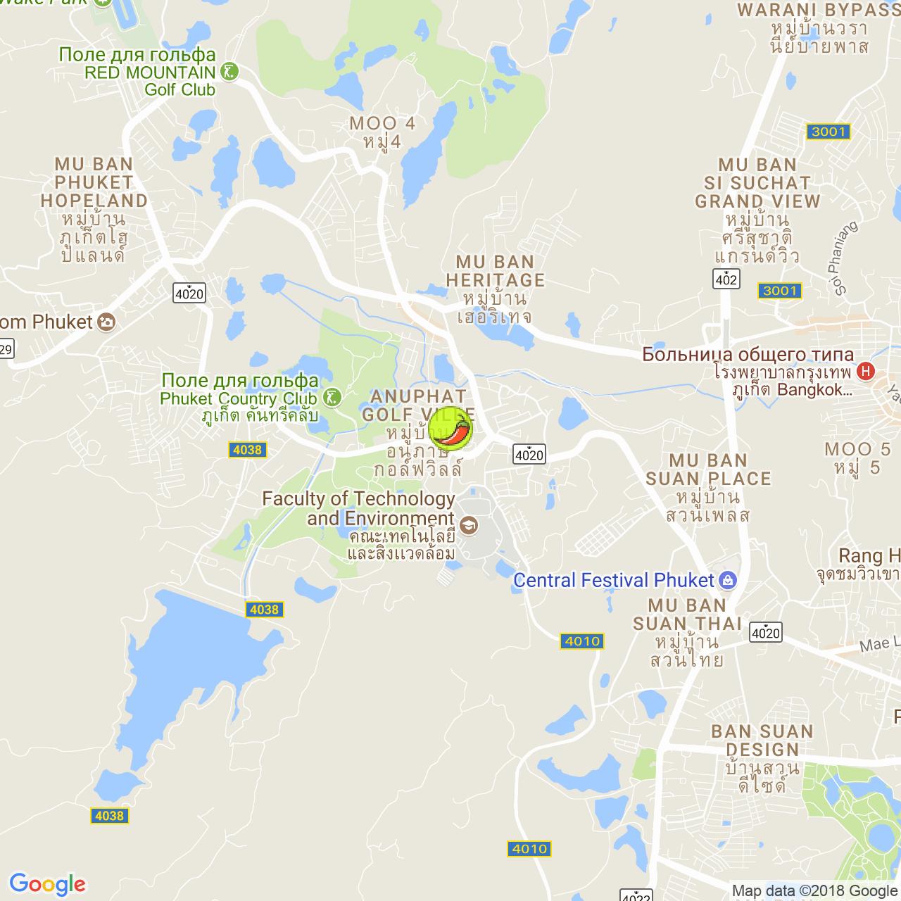 Friend's на карте Пхукета