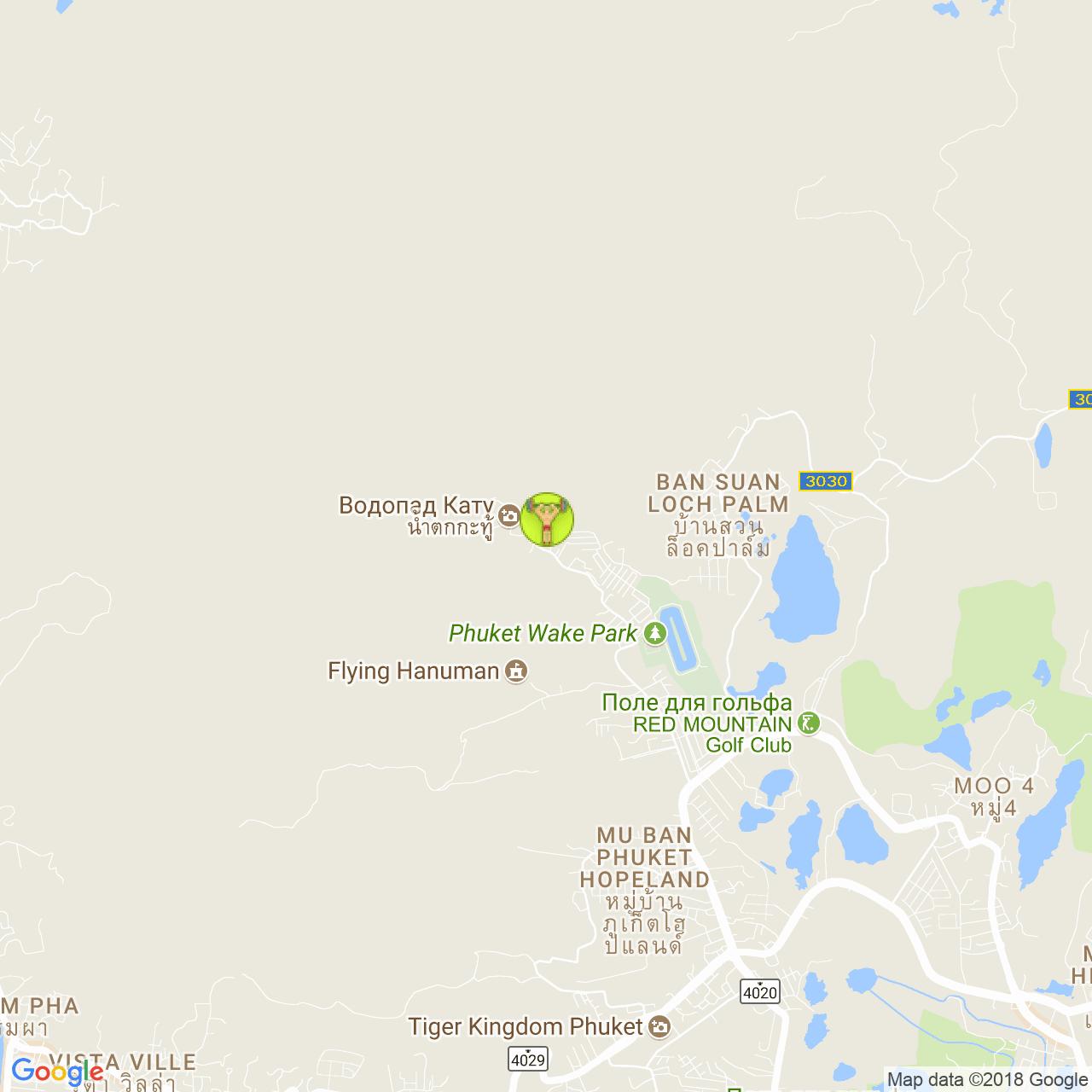 Fit Gun Gym на карте Пхукета