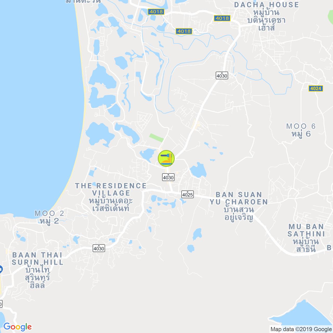 Cafe Waya на карте Пхукета