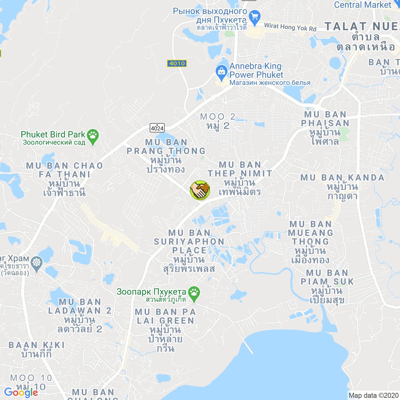 PAISAN Dry Cleaning на карте Пхукета