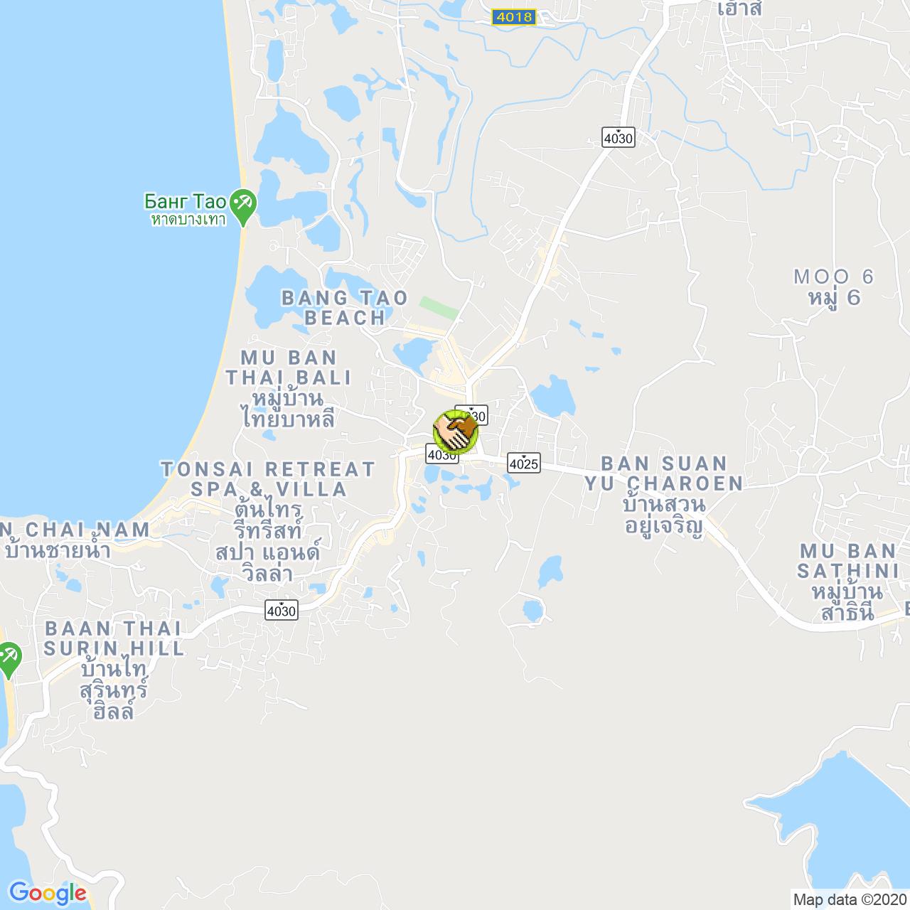 Ремонт часов на карте Пхукета