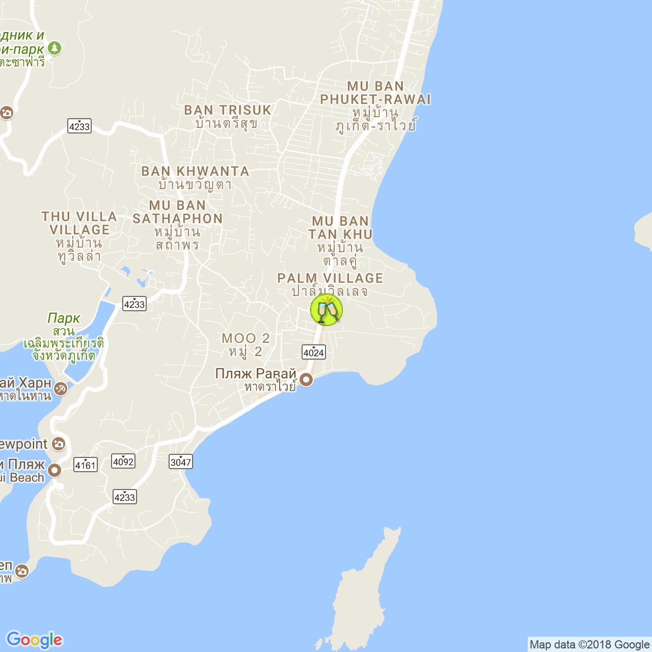 Laguna night club на карте Пхукета