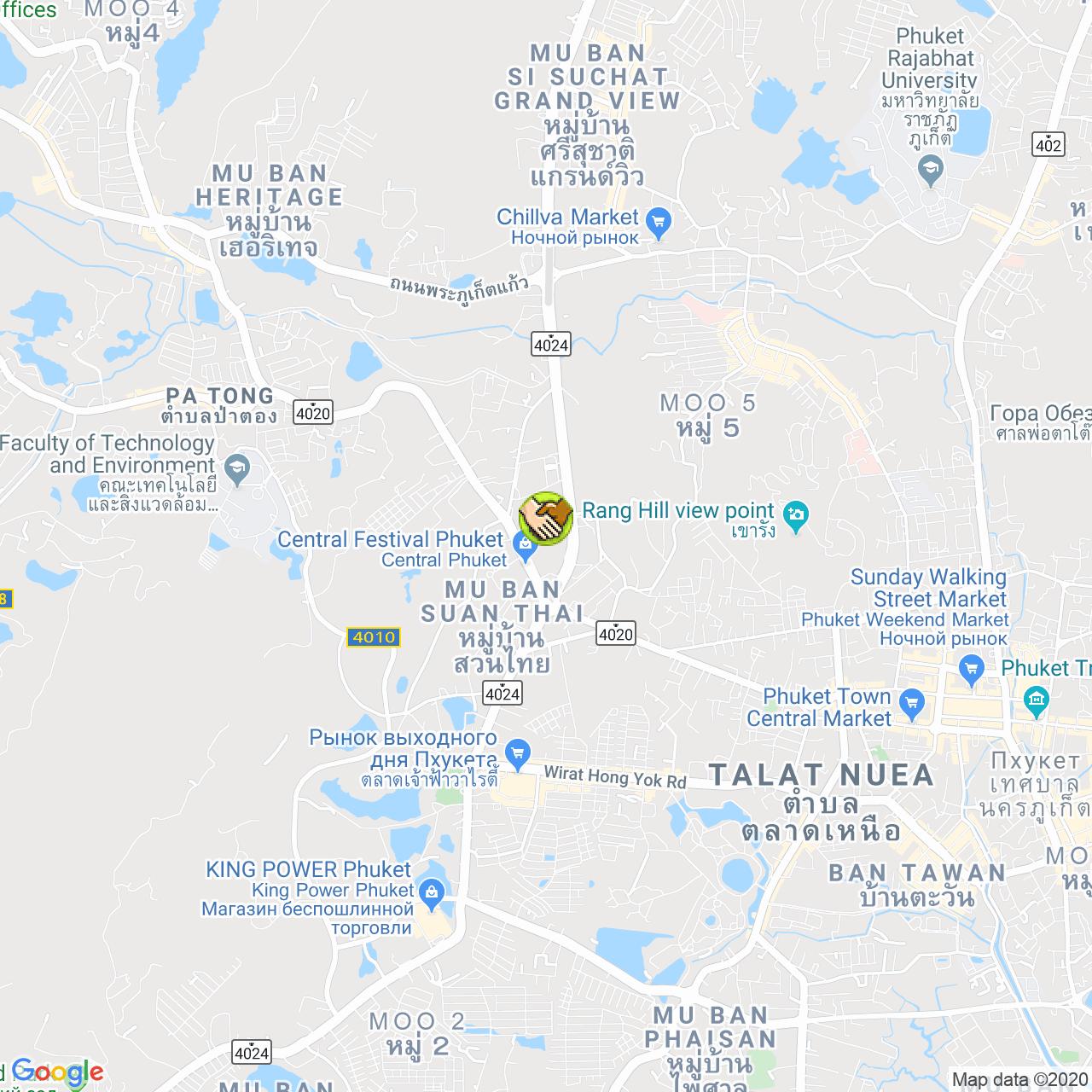 Коворкинг BAYACO на карте Пхукета
