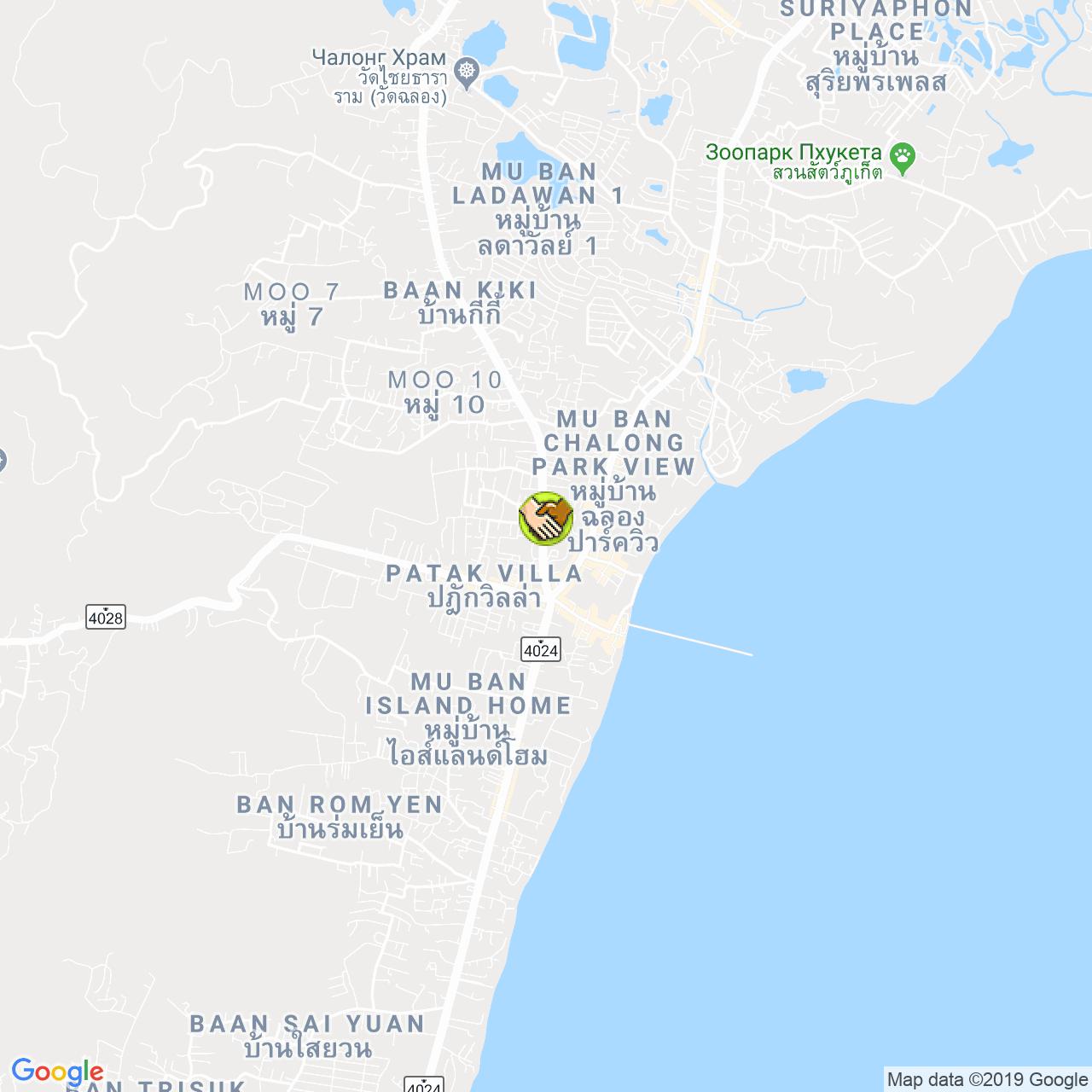 VillasHomes Agency на карте Пхукета