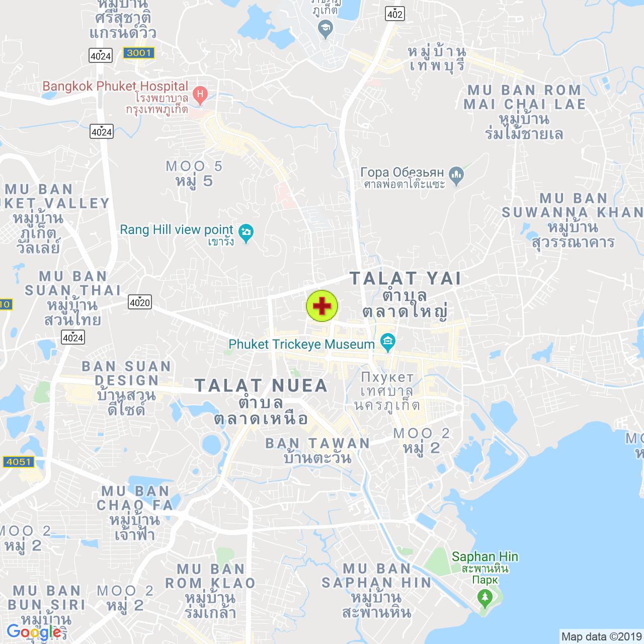 Клиника от запоев на карте Пхукета