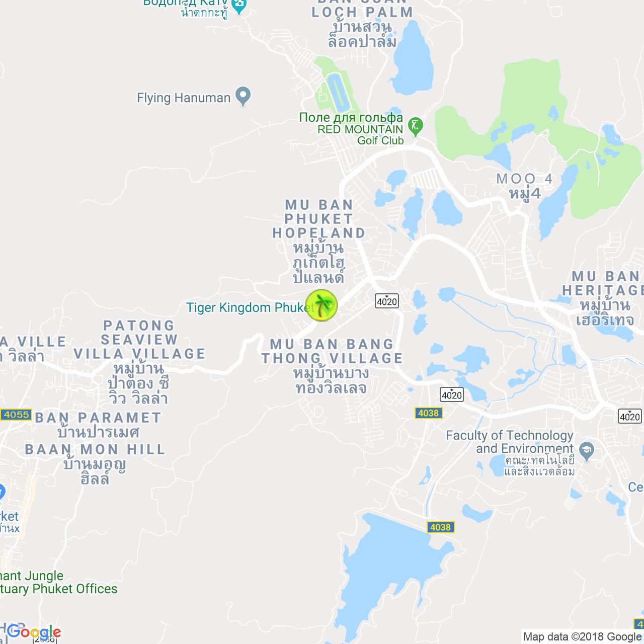 Patong Go-Kart на карте Пхукета