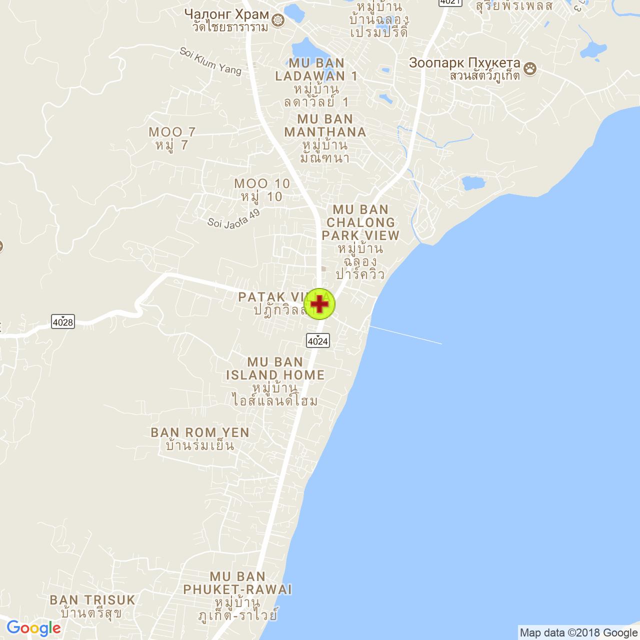 Доктор Тити (ThiTi) на карте Пхукета
