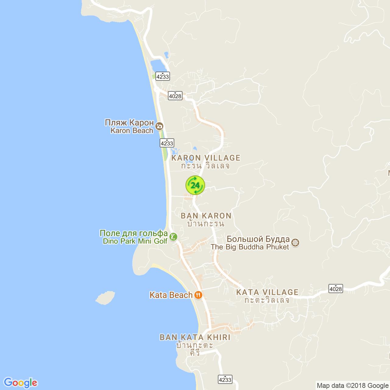 C.S. Minimart на карте Пхукета