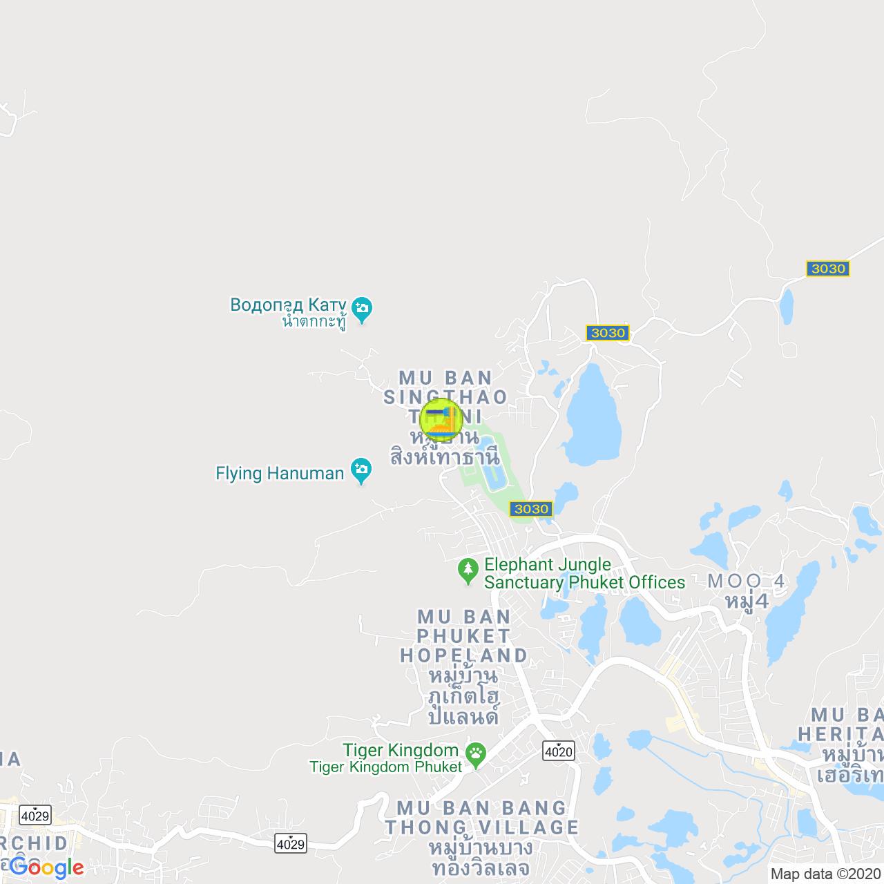 Пиццерия Al Fiume на карте Пхукета