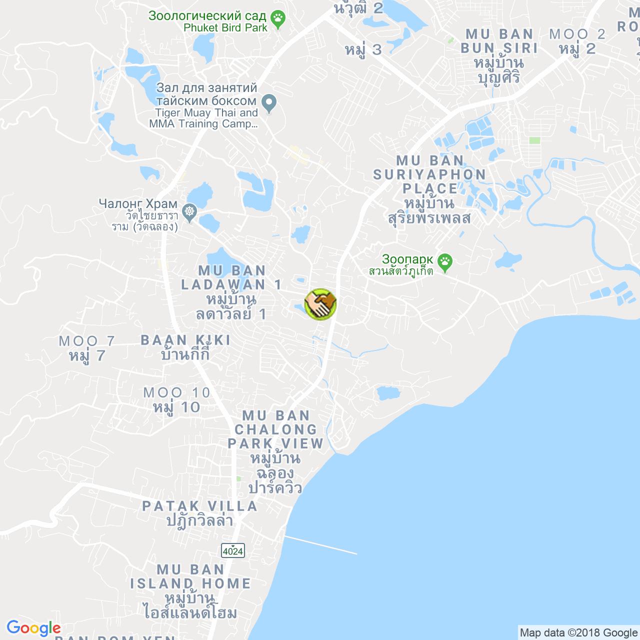 Vphuket Co. Ltd. на карте Пхукета
