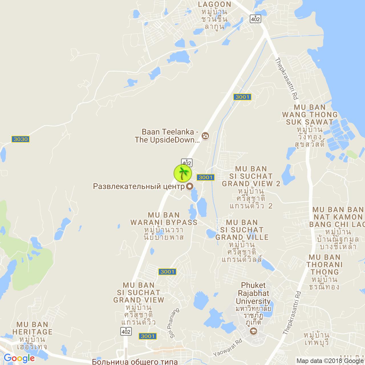 Шоу Siam Niramit на карте Пхукета