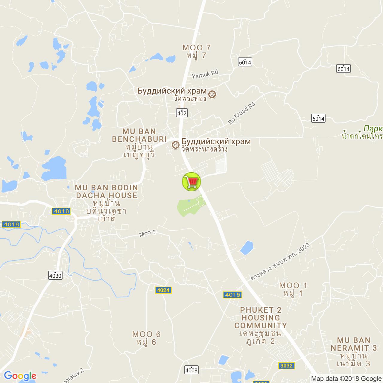 Макро @ Таланг на карте Пхукета