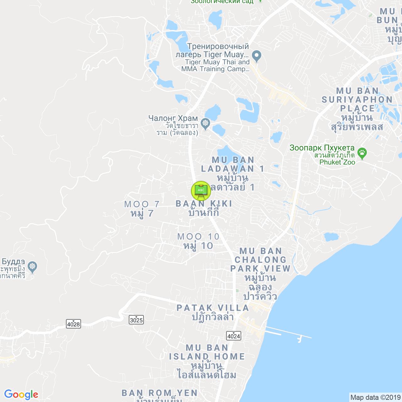 TARGET Language School / Языковая Школа TARGET на карте Пхукета