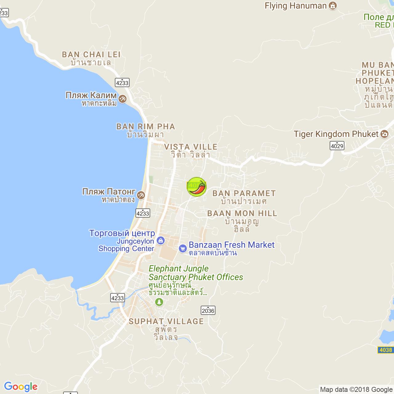Khon Kaen Buffet & BBQ на карте Пхукета