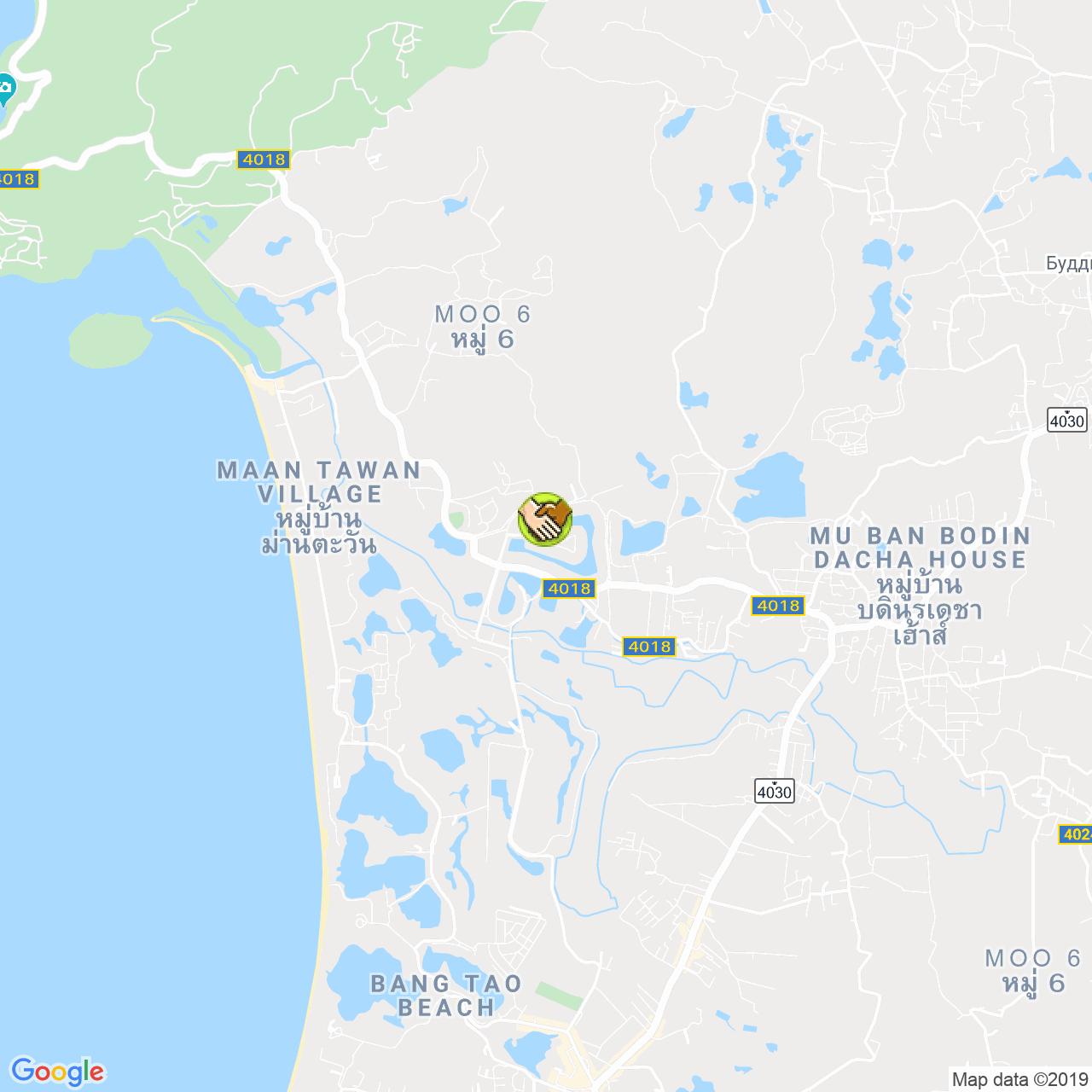InDreams Phuket на карте Пхукета
