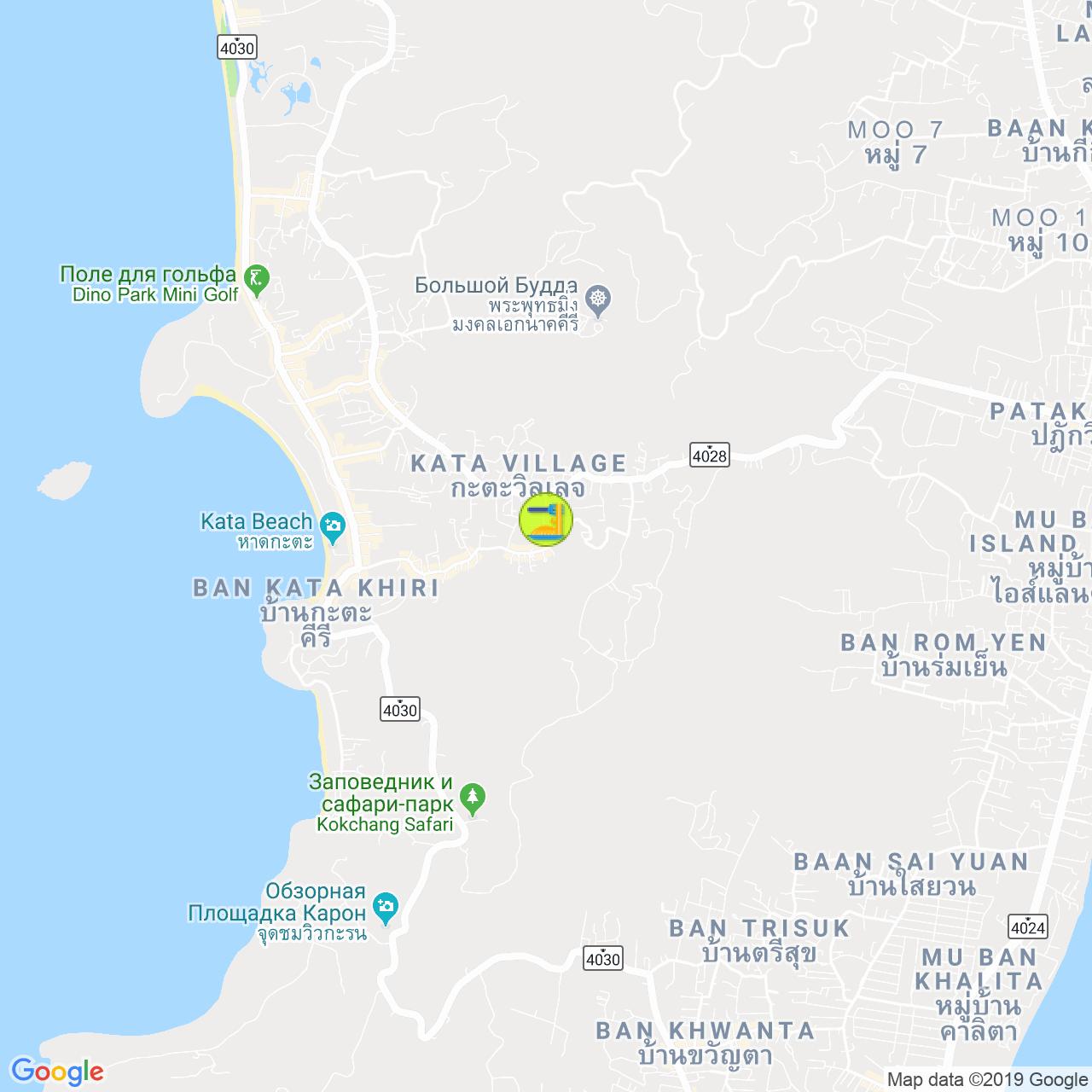 Пиццерия Pomodoro на карте Пхукета