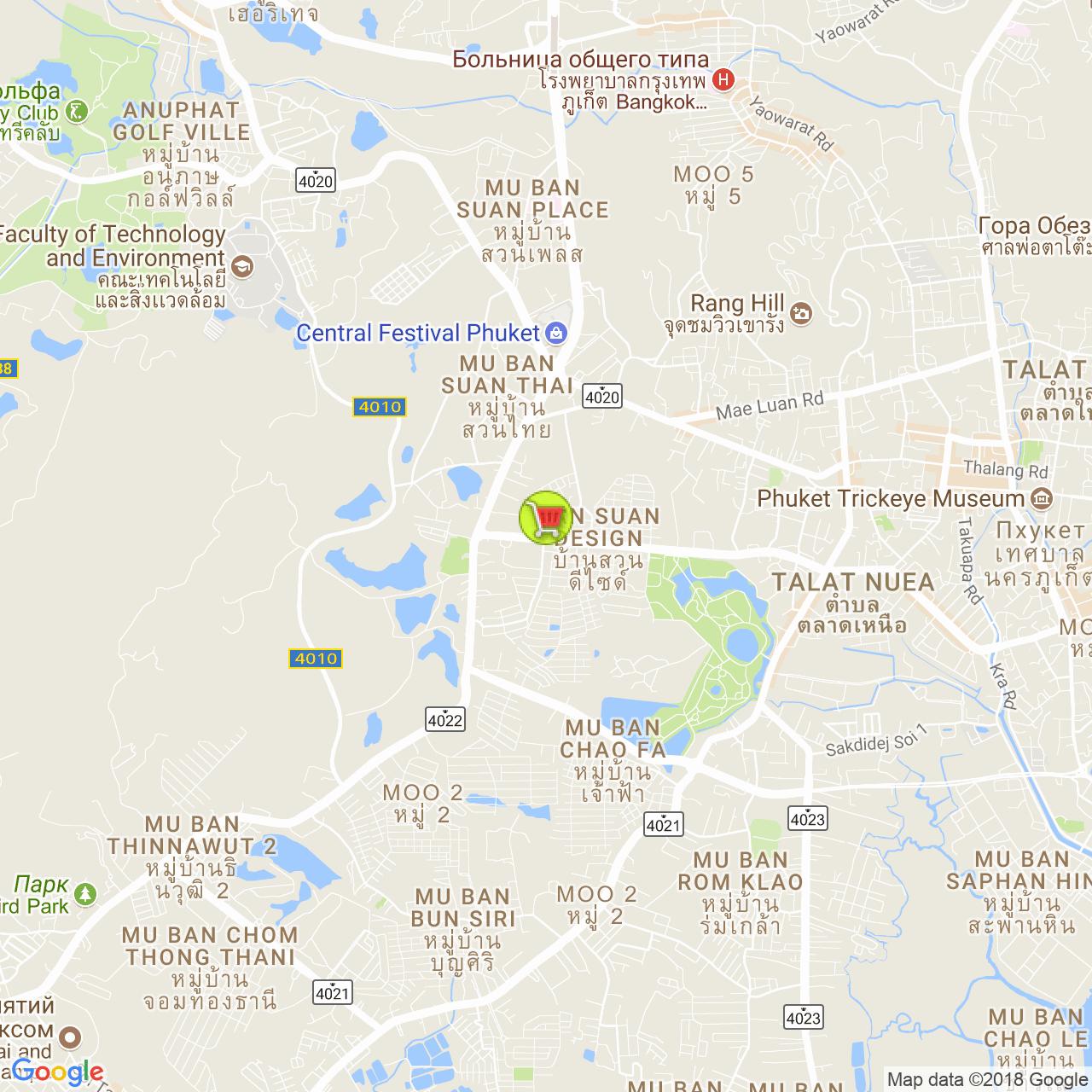 Super Сheap @ Naka на карте Пхукета