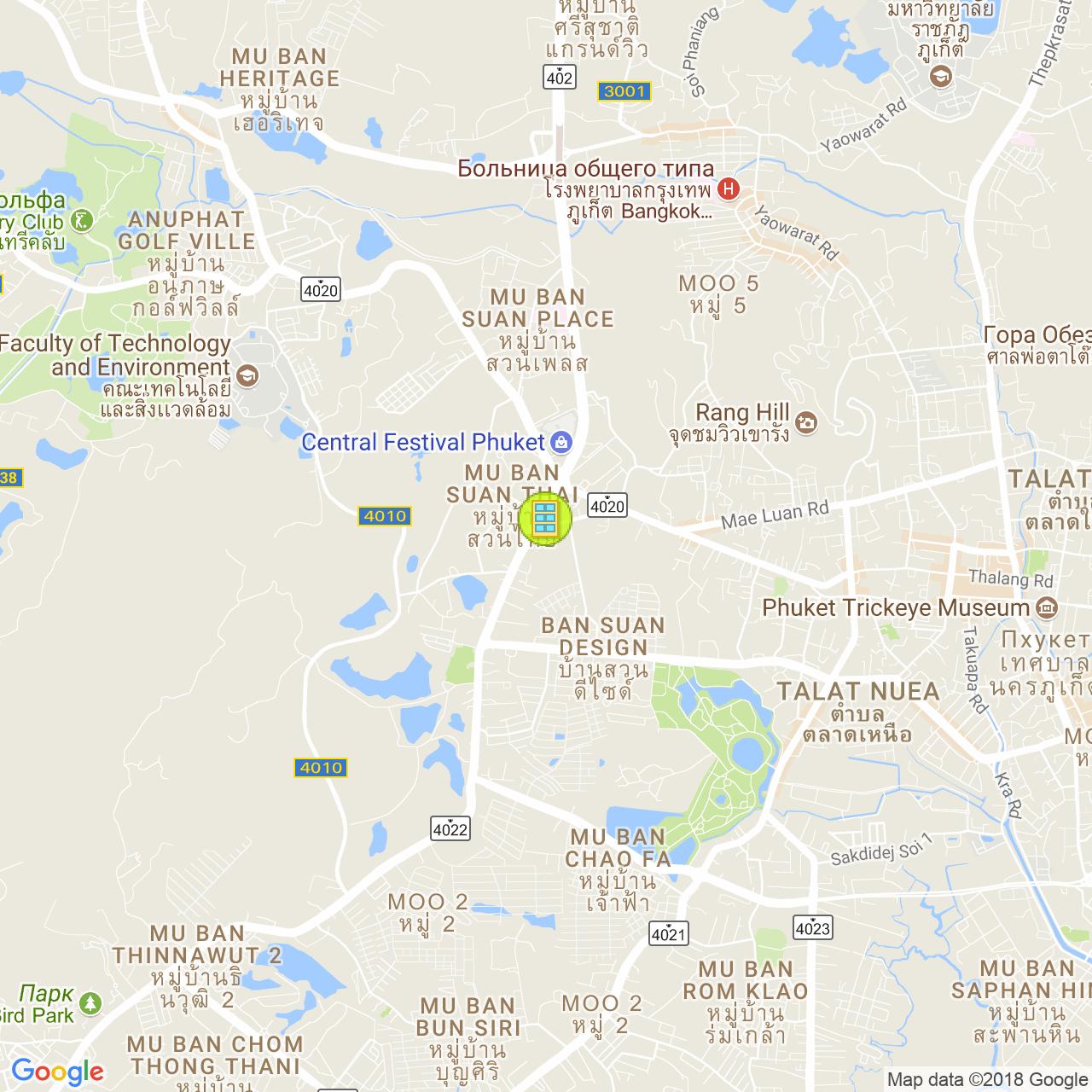Centrio Condominium на карте Пхукета