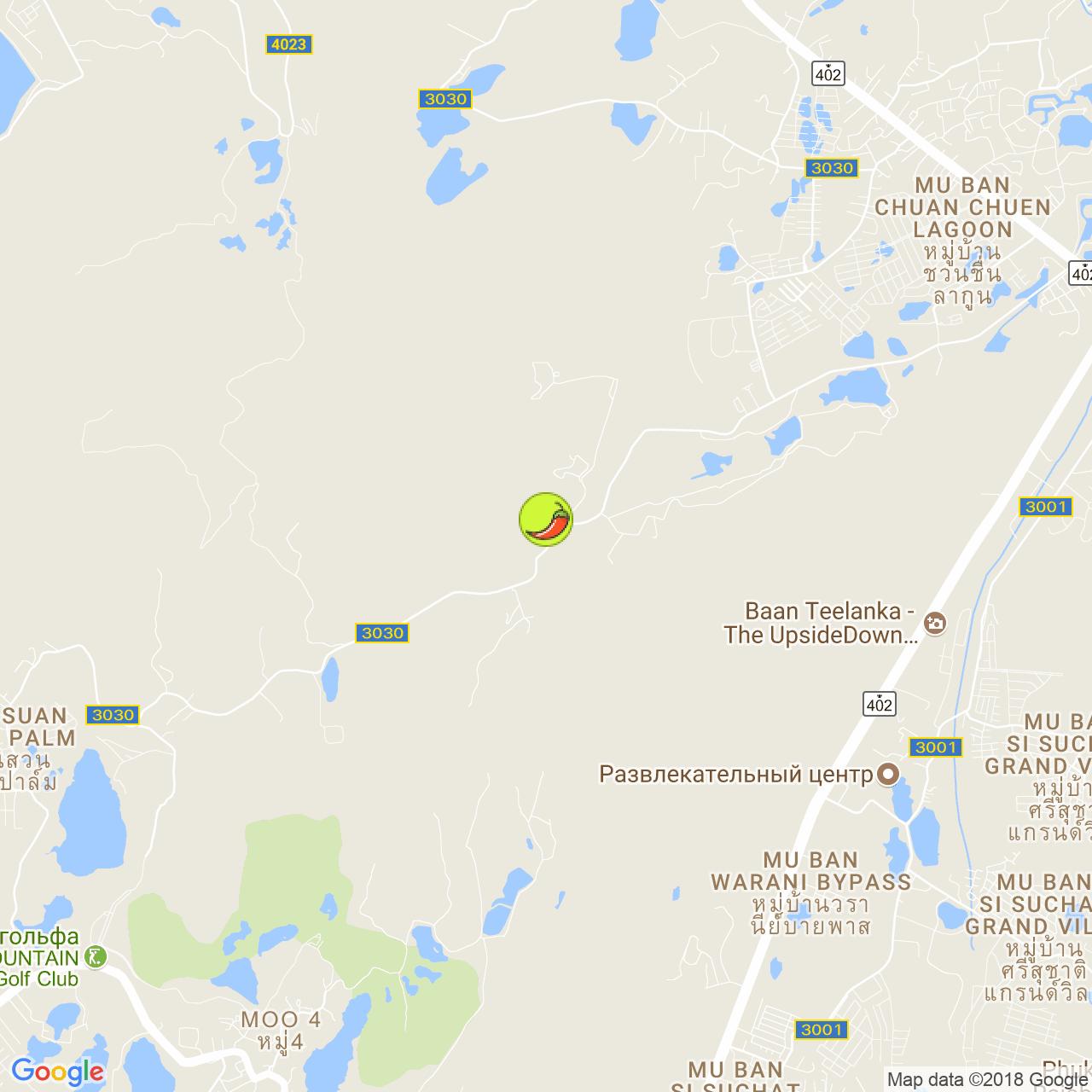 Naratiwas Kitchen на карте Пхукета