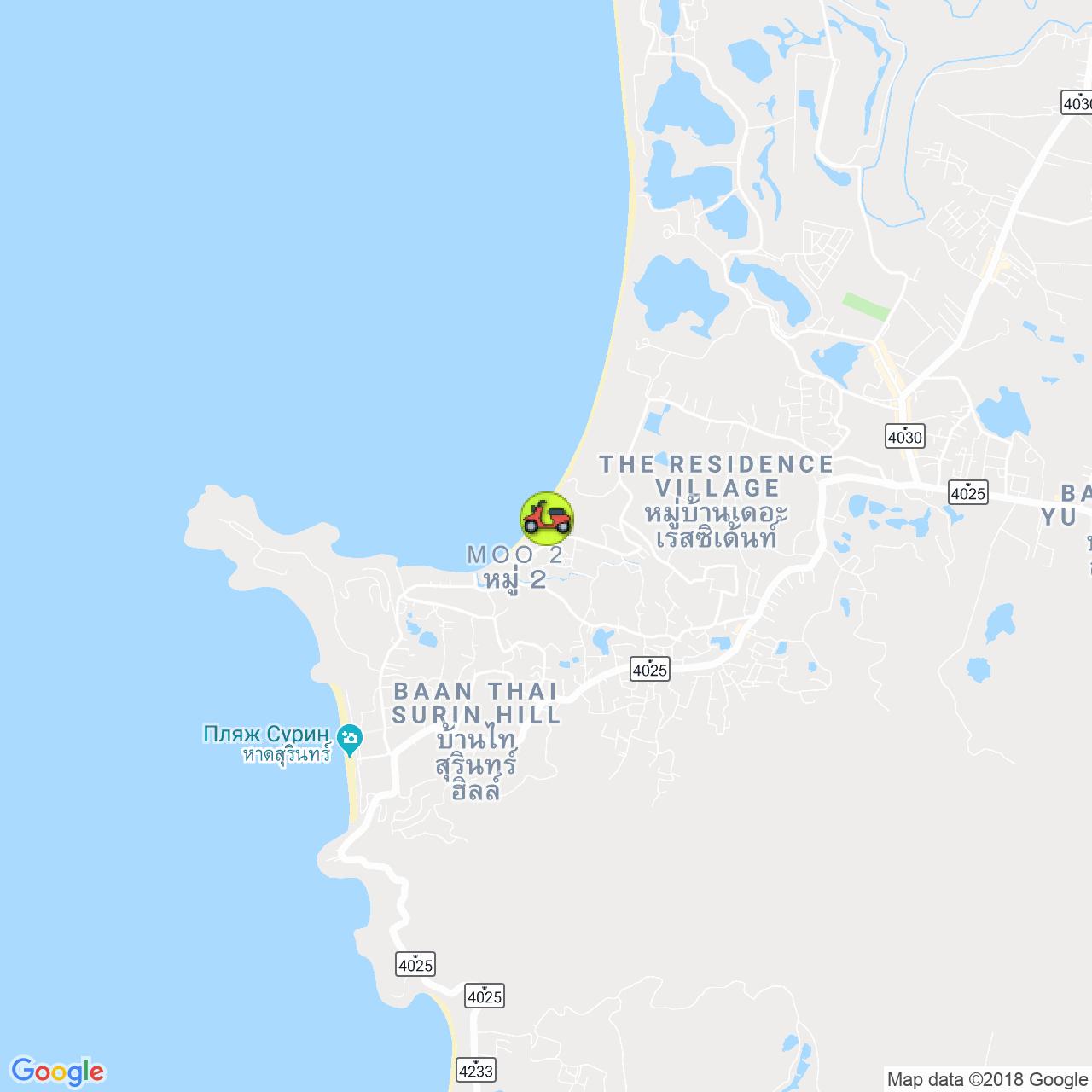 AKK Travel на карте Пхукета